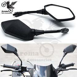 10mm 8mm vis universelle dirt pit bike motocross partie ATV Off-road moto rétroviseur moto accessoires moto miroirs