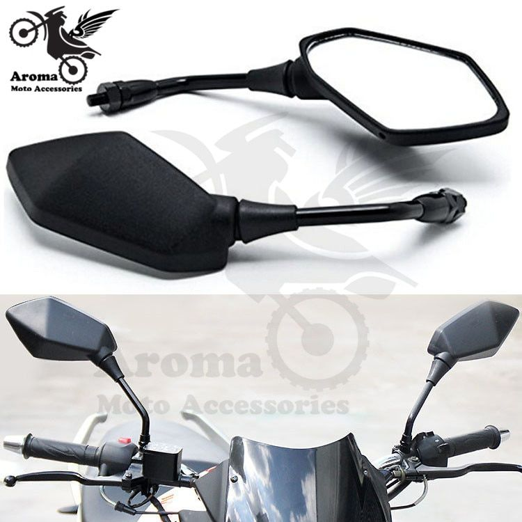 hot big size 10mm 8mm universal dirt pit bike motocross ATV Off-road motorbike rear view mirror motorcycle mirror moto mirrors