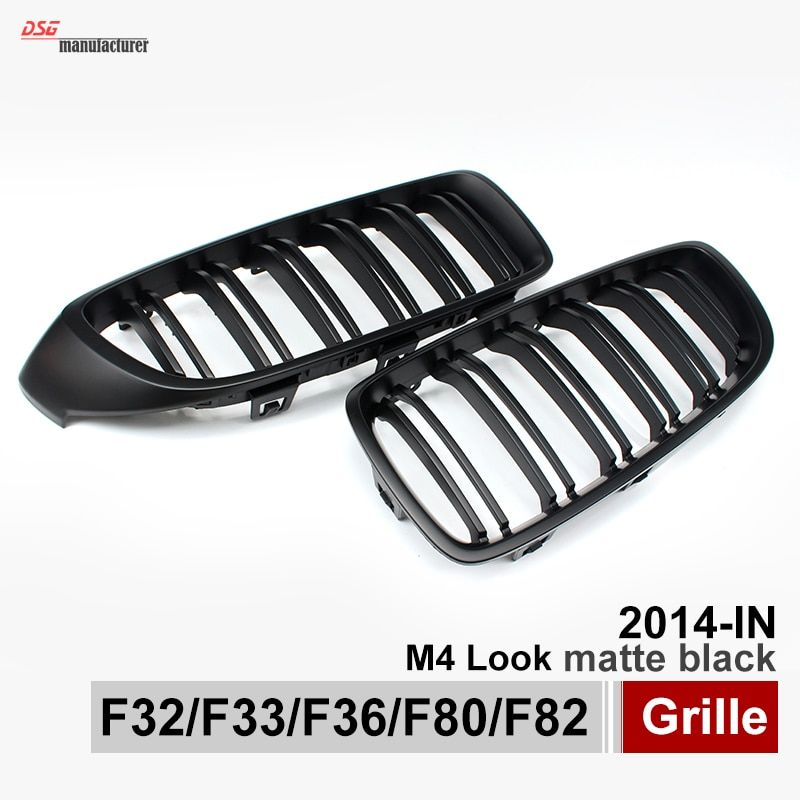 F32 F33 F36 F80 M3 F82 F83 ABS Front Grille For BMW 4 Series Gloss Black Racing Grille M3 M4 Coupe Sedan Cabriolet