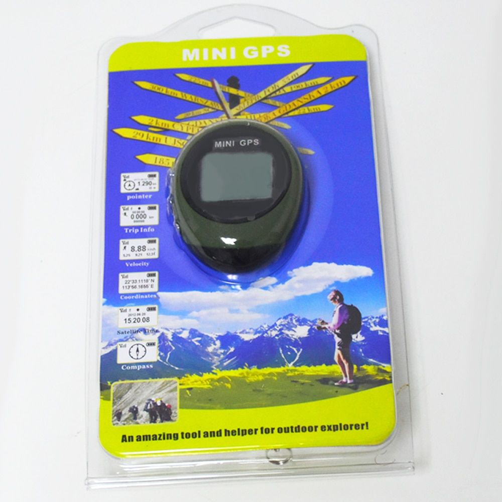 Climbing Handheld Mini GPS Navigation Keychain PG03 USB Rechargeable Location Tracker Compass For Outdoor Travel  tool