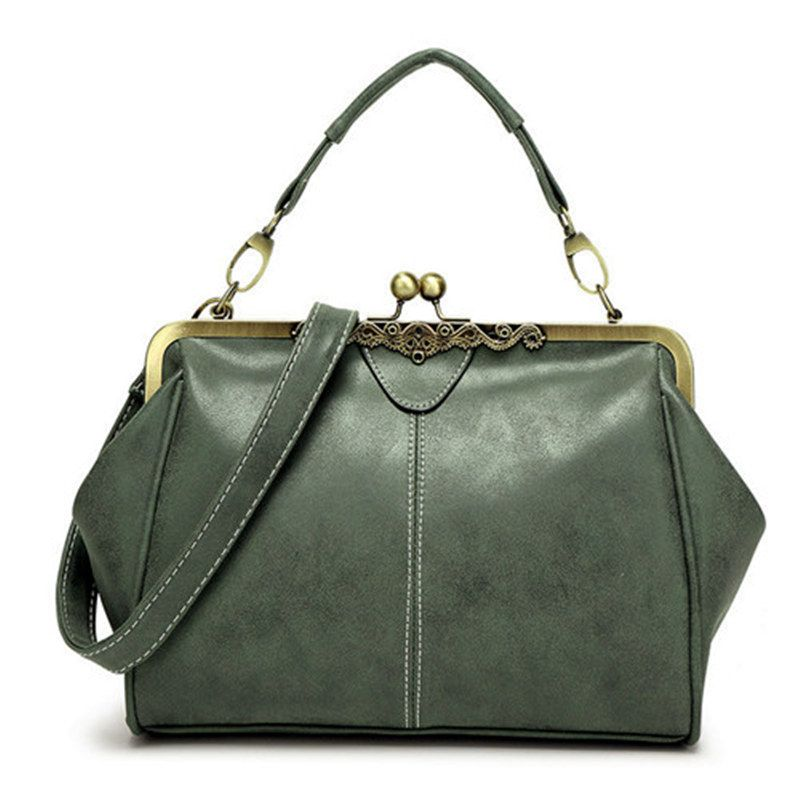 Bolish retro PU <font><b>leather</b></font> women handbag small shoulder bag high quality tote bag small clutch messenger bag