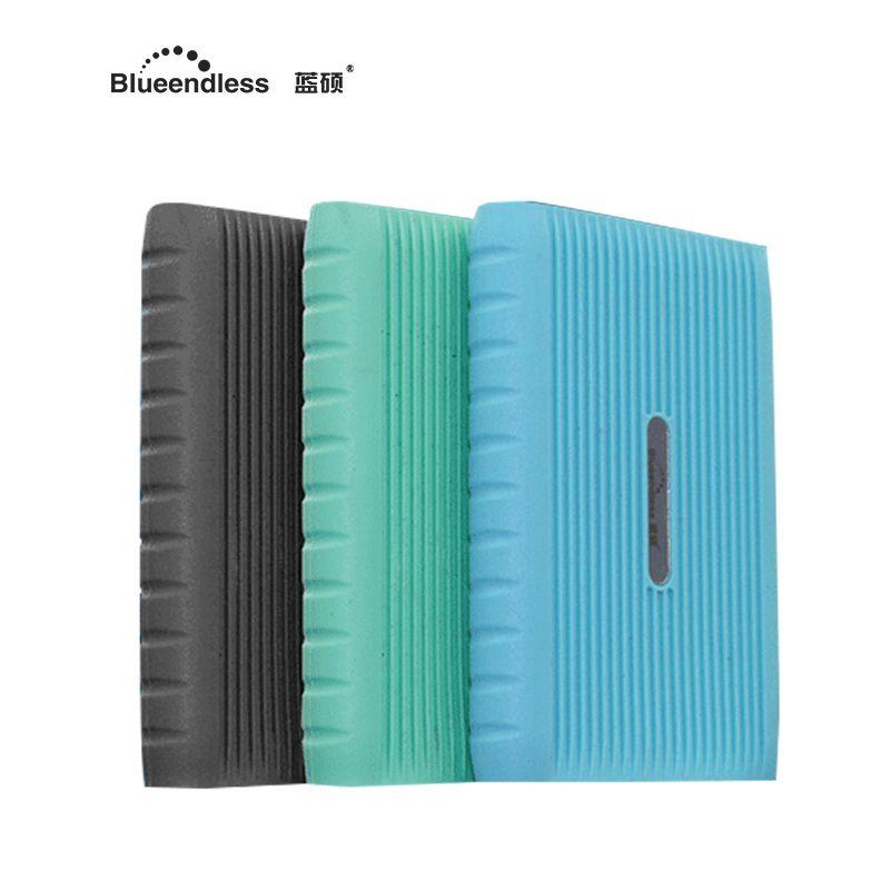 Внешний жесткий диск 1 ТБ с 2.5 HDD корпус против царапин силиконовый чехол внешней памяти расширен для планшетов blueendless