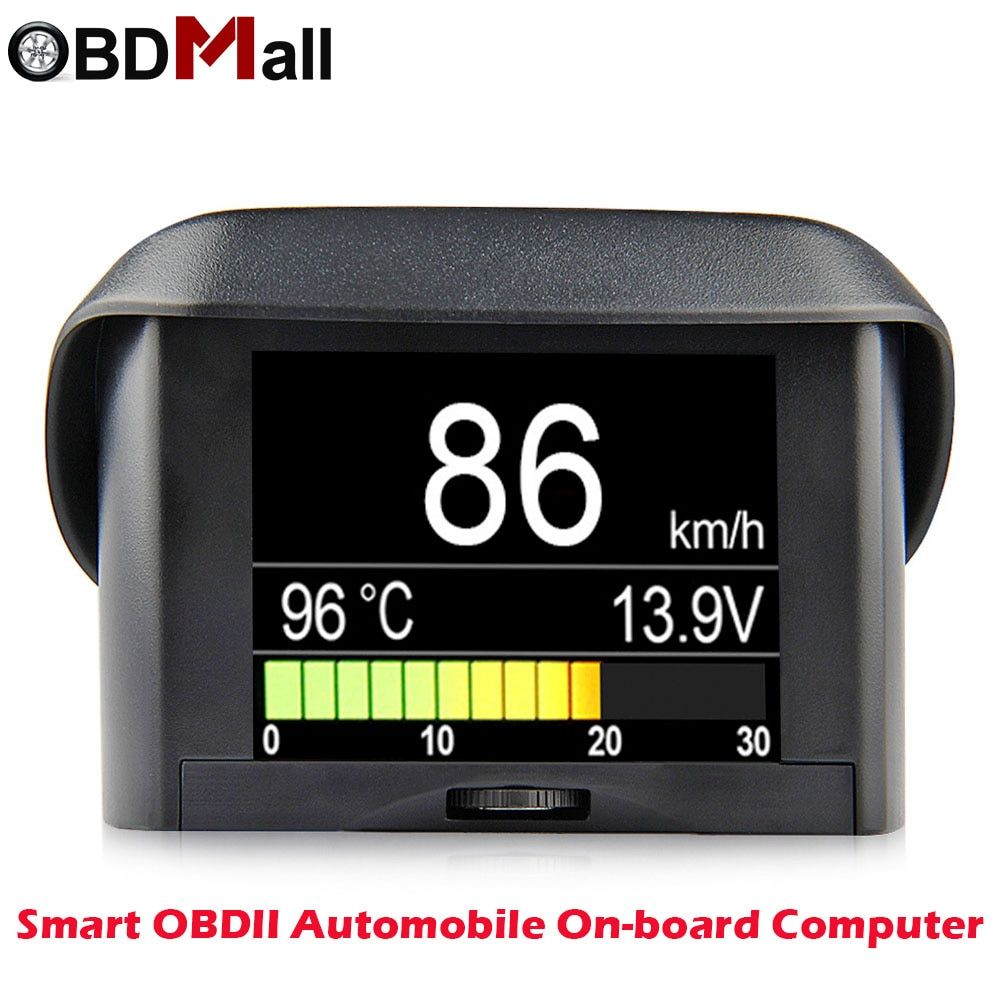 Automobile On-board Computer A202 Car Digital OBD 2 Driving Computer Display Speedometer Coolant Temperature Gauge Free Shipping