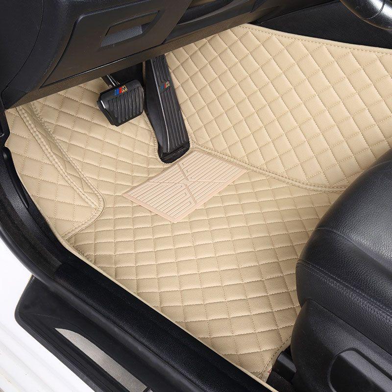 Custom car floor mats for Audi A6L R8 Q3 Q5 Q7 S4 RS TT Quattro A1 A2 A3 A4 A5 A6 A7 A8 car accessories car-styling