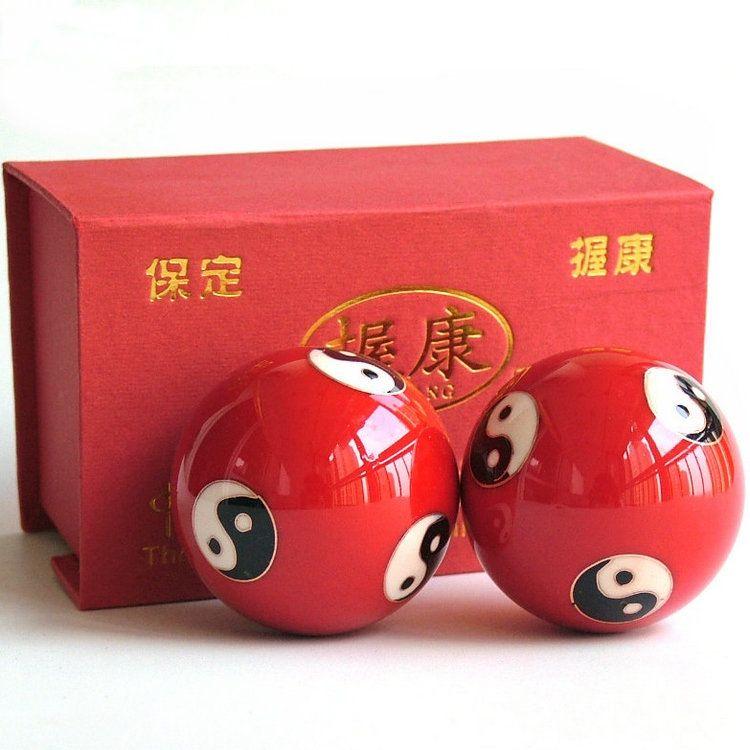 Health Ball  Tai Chi Hand Ball   Health Fitness Ball China Gift Diameter 5 Cm