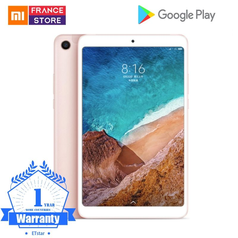 Original Xiaomi Mi Pad 4 OTG MiPad 4 Tablets 8 PC Snapdragon 660 Octa Core 1920x1200 13.0MP+5.0MP Cam 4G Tablet Android