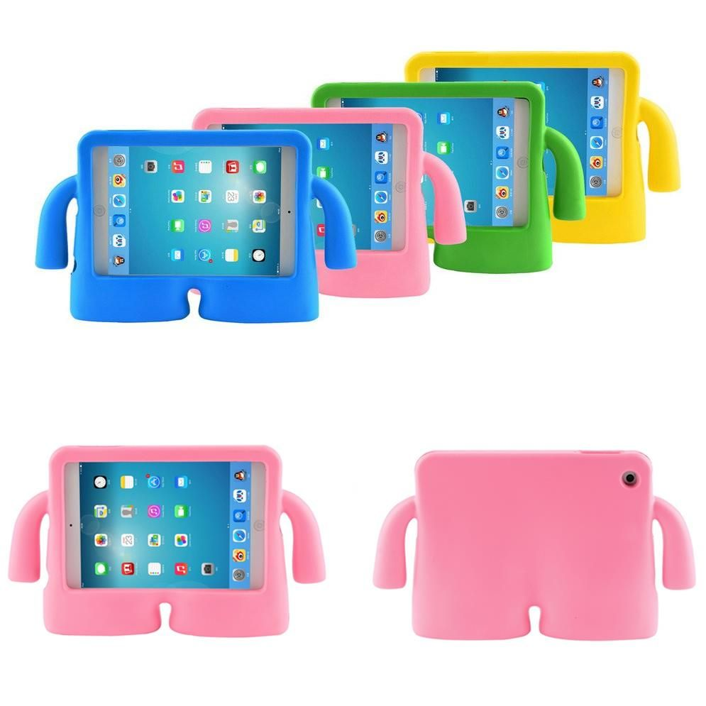 Antichoc enfants poignée en mousse housse de protection pour Apple iPad air 2 iPad 2/3/4 5 6 étuis tablette Smart Stand couverture pour mini3 2 1