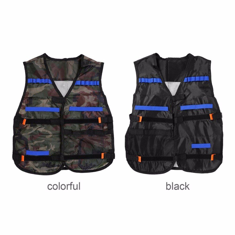 Freien Tactical Jagd Weste Kit Für Nerf n-strike Elite Spiele Camping Military Verstellbaren riemen lagerung taschen colete tatico