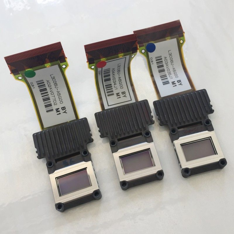 3 piece / lot Original LCD Panel L3C06U-A6G00 L3C06U-A5G00 for Epson EH-TW6500C/TW6000/TW5900 projector red blue green