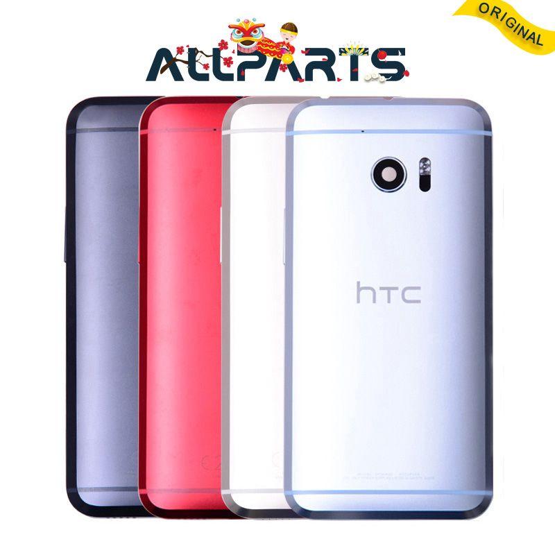 Original Logement Porte Pour HTC M10 Retour Couvercle de La Batterie Cas avec Volume + Camera Lens Assemblée Digitzer Pour HTC M10 Couvercle de La Batterie