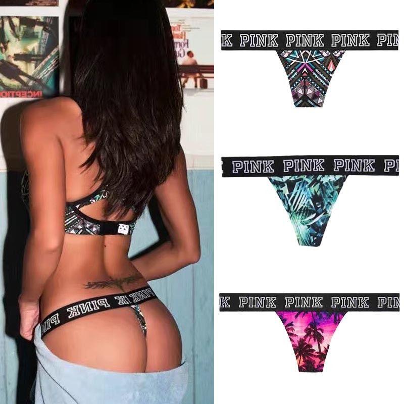 2017 Hot Sexy Frauen Brazilian Style Zweiteilige Trennt Frauen Bademode Print Bikini Bottom Tanga Badestrand Badeanzug Badende T