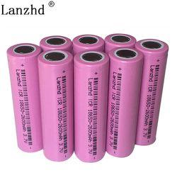 8PCS 18650 Rechargeable Battery 3.7v lithium Batteries 18650 Li ion Capacity 2600MAH Li-ion Battery for samsung 18650 batteries