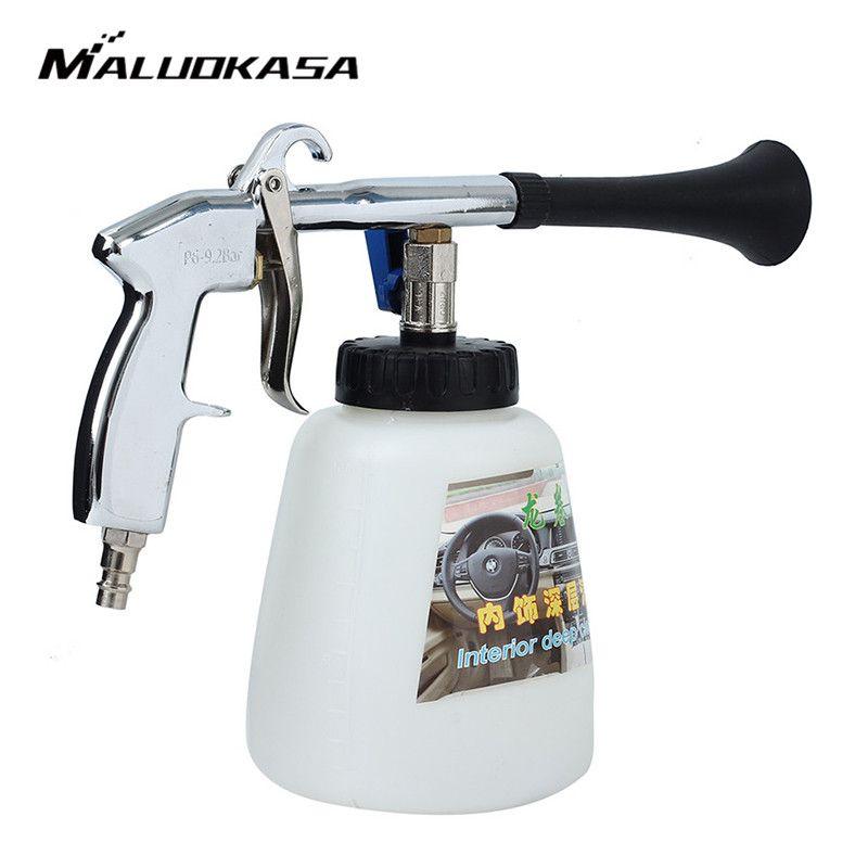 MALUOKASA Tornado Water Gun Foam Lance for Car Wash Cleaning Pressure Generator Surface Interior & Exterior Car Vacuum Cleaner