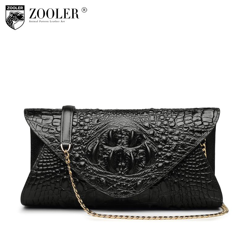 Hot ZOOLER genuine leather Bags cross body women famous brand shoulder messenger bag chains designed woman bag high quality#x103