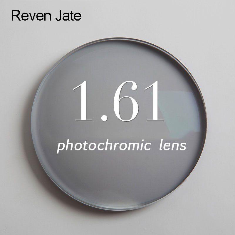 1.61 photochromiques Gris ou Brun unique vision lentille SPH gamme-6.00 ~ + 5.50 Max CLY-4.00 optique lentilles pour lunettes