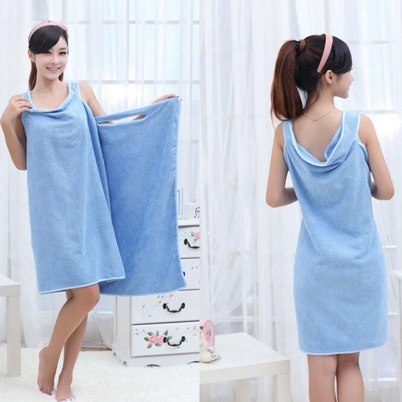 New Bath Towel Fashion Lady Girl Wearable Fast Drying Magic Bath Towel Beach Spa Bathrobes Bath Skirt