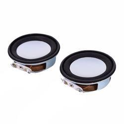 2 Pcs/Set 4ohm 3w 40mm antimagnetic Speaker small Sound accessories loudspeaker Woofer Column Speaker Drop Shipping