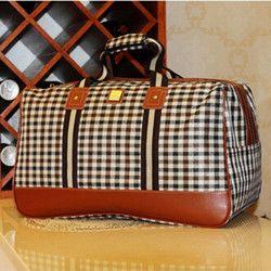 Double 11 Mode 2014 Vente Chaude Grande Capacité Étanche taille 50*30*25 cm femmes voyage sac à main bagages 9 Styles LY0034