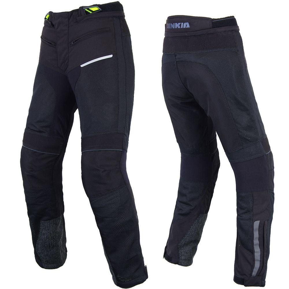 BENKIA Men Motorcycle Motocross Pants Breathable Mesh Pants Motorbike Moto Racing Pants For Spring Summer