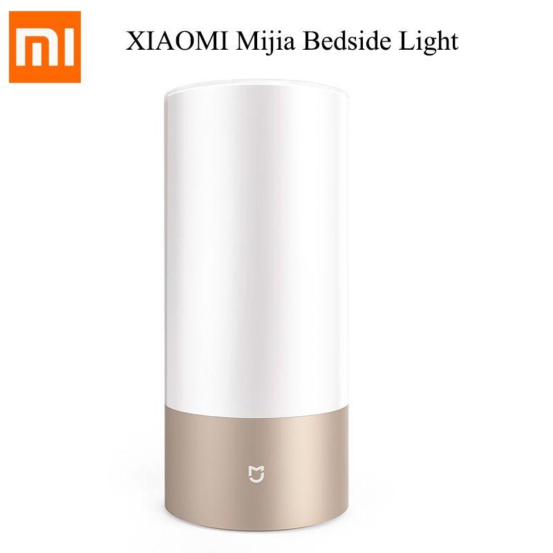 Original Xiaomi Mijia Mi Bedside Lamp Yeelight Light 2 Table Desk Smart Indoor Light Touch Control Bluetooth Wifi for Mijia APP