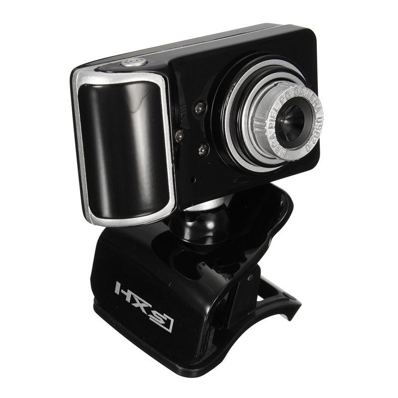 HD Web-kamera Clip-on 3 FÜHRTE Drehenden Webcam USB Kamera mit MIKROFON Mikrofon Webkamera Für Android TV PC Computer