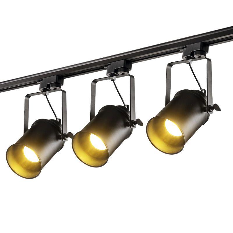 Modern LED Track lights Rail lamp Clothing Shop Windows Showrooms Exhibition Spotlight Home Lighting Spot Lamps Fixtures