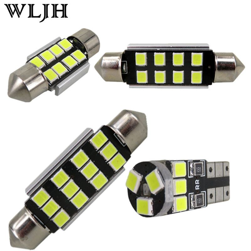 WLJH 18pcs No Error Canbus Car LED Package Interior Light Kit for BMW E92 3 Series Coupe 328i 335i 335d 335i 2006 - 2013