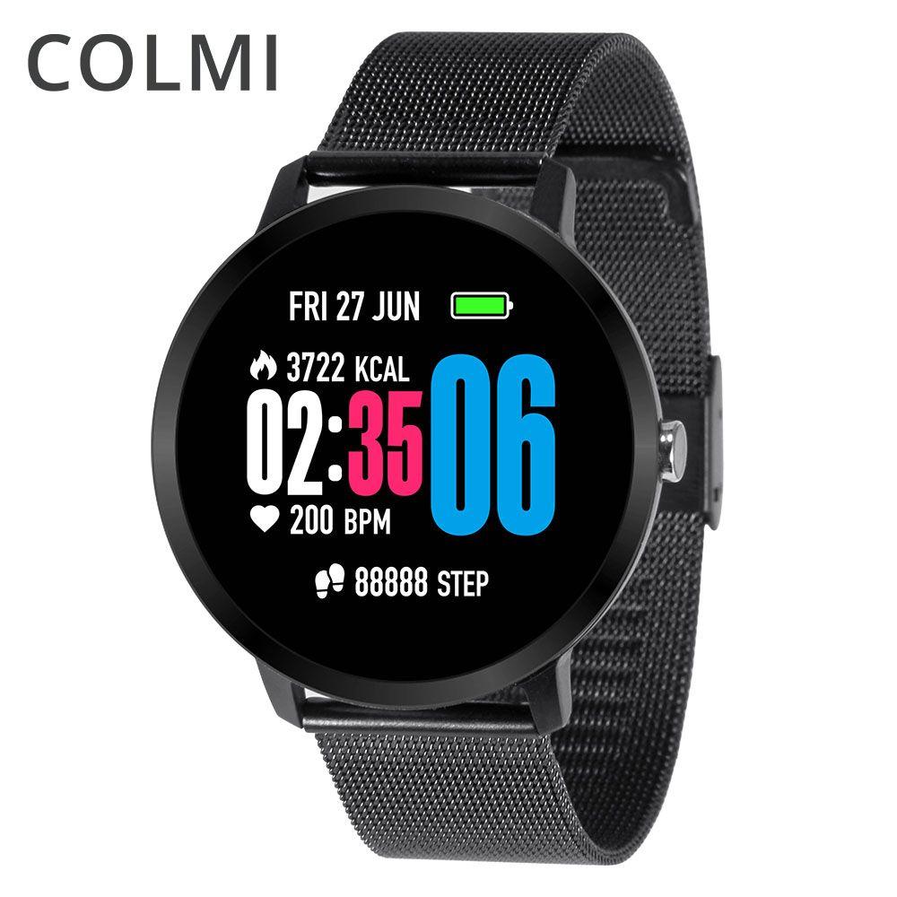 COLMI Fitness tracker IP67 waterproof Activity tracker Tempered glass Heart rate monitor Bracelet Men women Smart Band