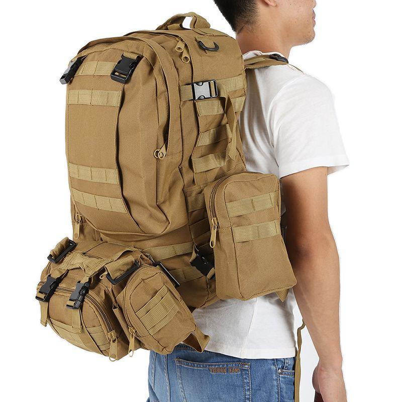 Men Military backpack Camouflage backpack Molle System Saver Bug Bag Survival backpack military Travel Bags