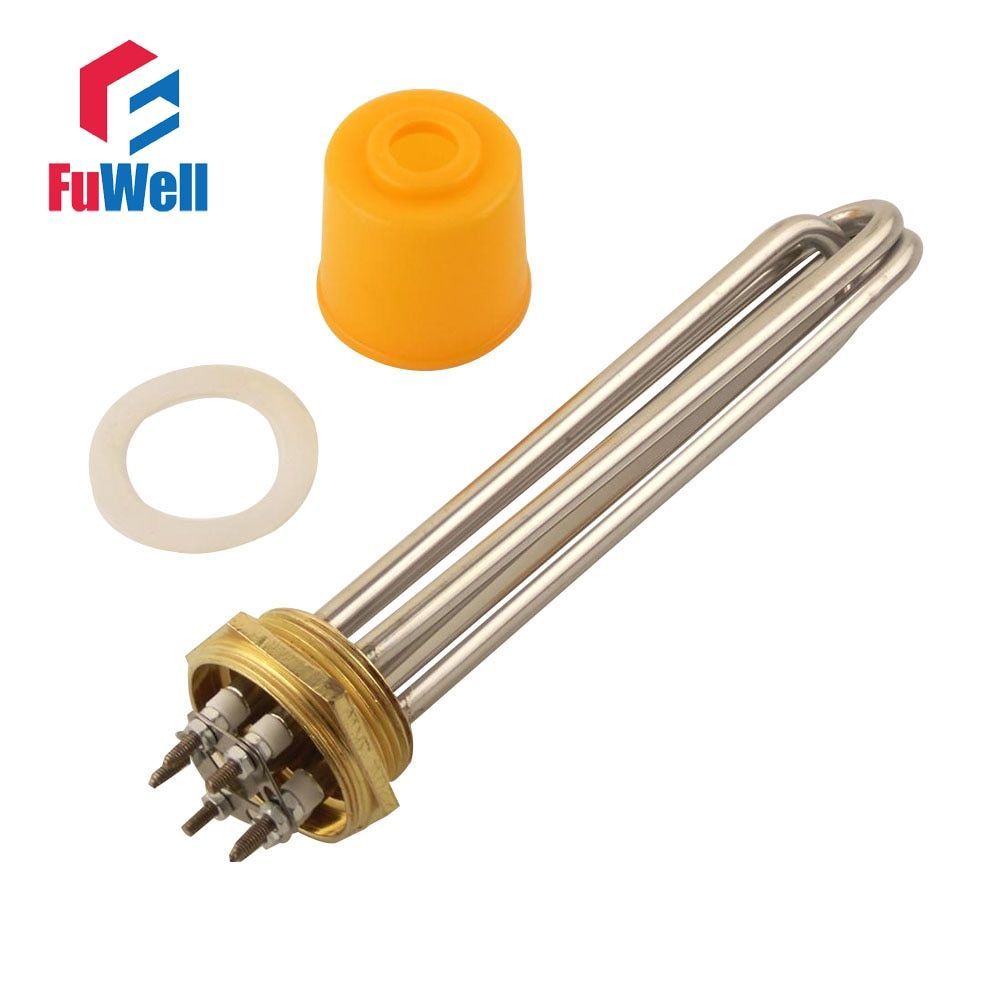 Electric Water Heater Element for Water Tank 1.5Inch DN40 220V/380V 3KW 4.5KW 6KW 9KW 12KW
