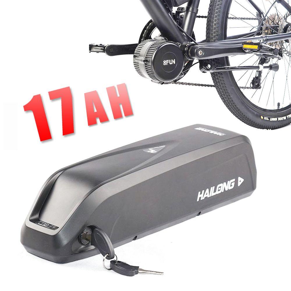 EU US AU KEINE STEUER Hailong 48 V Batterie 17AH Elektrisches fahrrad lithium-ionen-batterie für BAFANG BBS02 BBSHD 750 Watt 1000 Watt