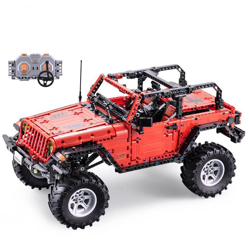 Fernbedienung Jeep Wrangler Auto Kompatibel Legoing Neue Technik serie bausteine set Pädagogisches geburtstage geschenke