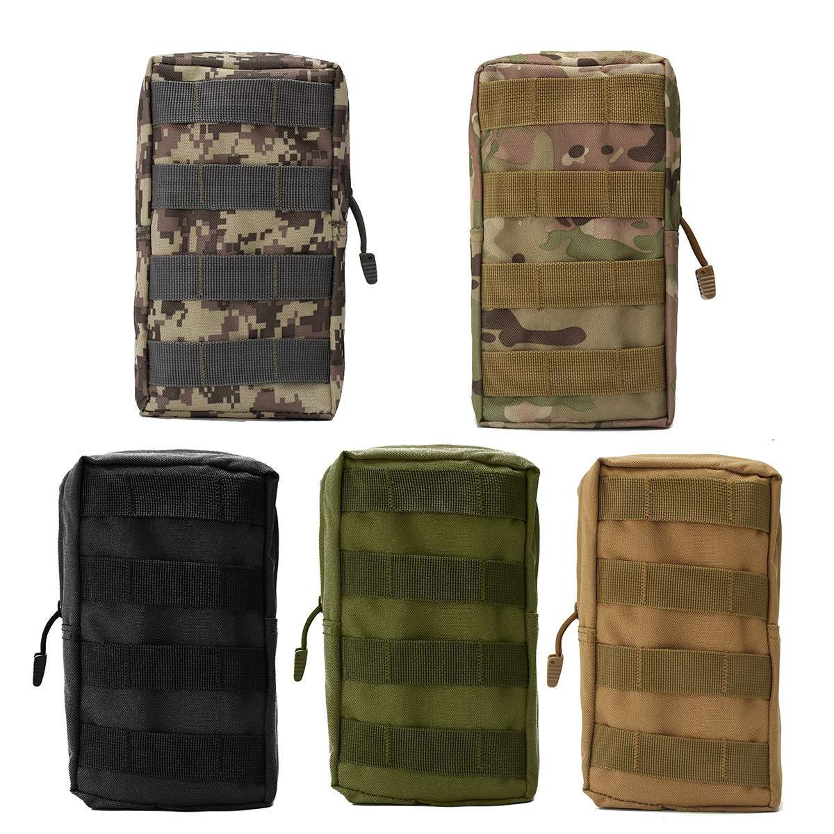 Safurance Nylon Tactical Molle Waist Bag Medical First Aid Utility Emergency Pouch Outdoor Storage Bag Emergency Kits