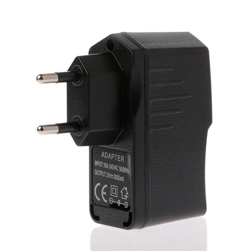 AC 100-240V DC 5V 3000mA USB Power Adapter Wand Ladegerät Netzteil EU/Us-stecker