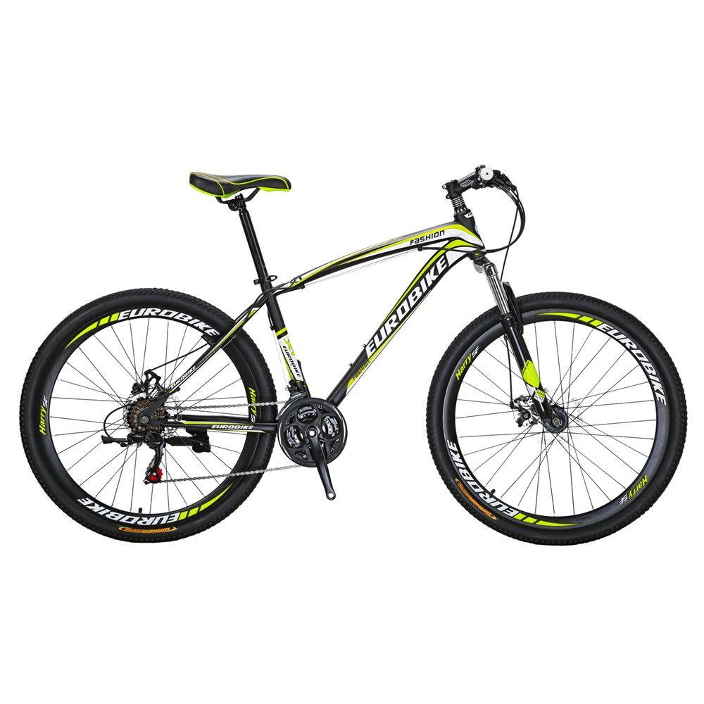 Mountain Bike X1 27.5 Inch Bicyle 21 Speed Dual Disc Brake Bike