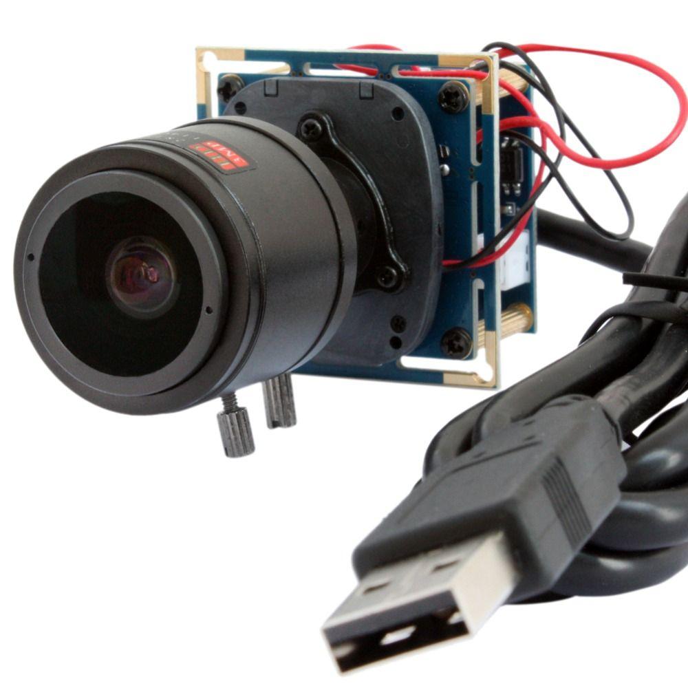 1920*1080p 30fps/60fps/120fps HD Cmos OV2710 2.8-12mm Varifocal lens CCTV Mini board usb camera module for android,linux,Windows