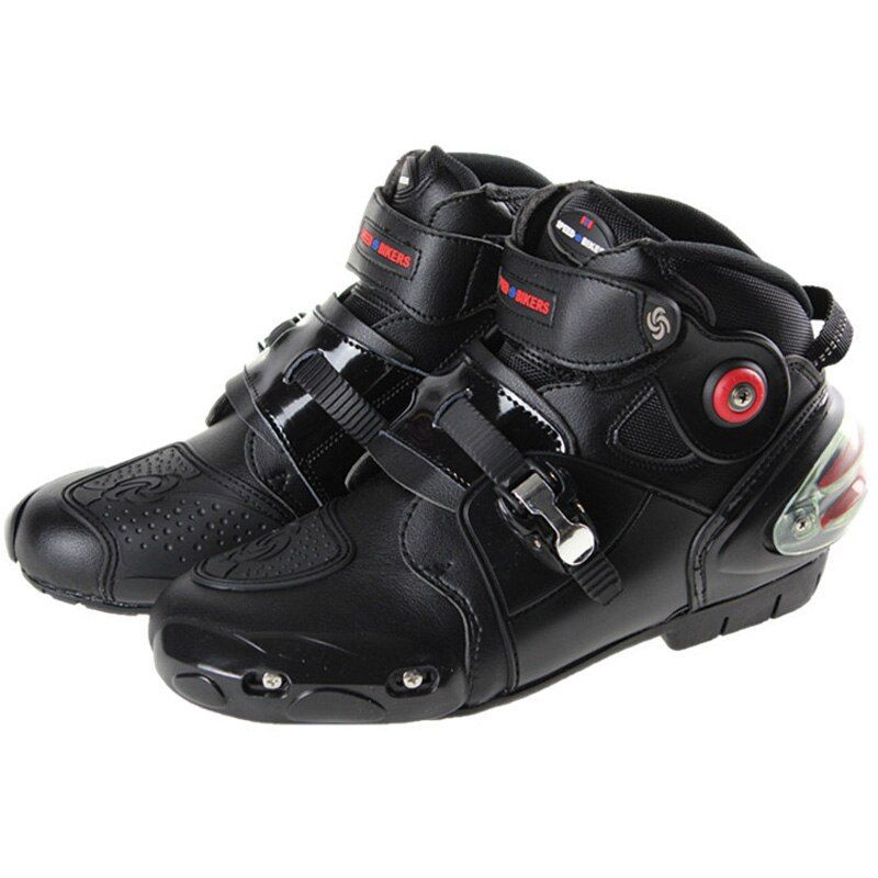 Riding Tribe motorcycle boots waterproof racing men motorbike moto motocross boots microfiber leather motorcycle protector shoes