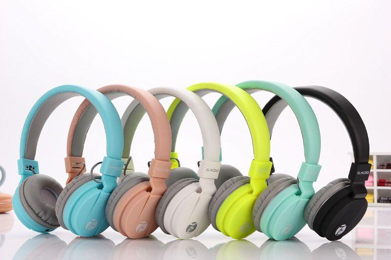 Модные милые наушники Карамельный цвет складной дети гарнитуры наушники с микрофоном для MP3 плеер смартфон девочек гарнитуры