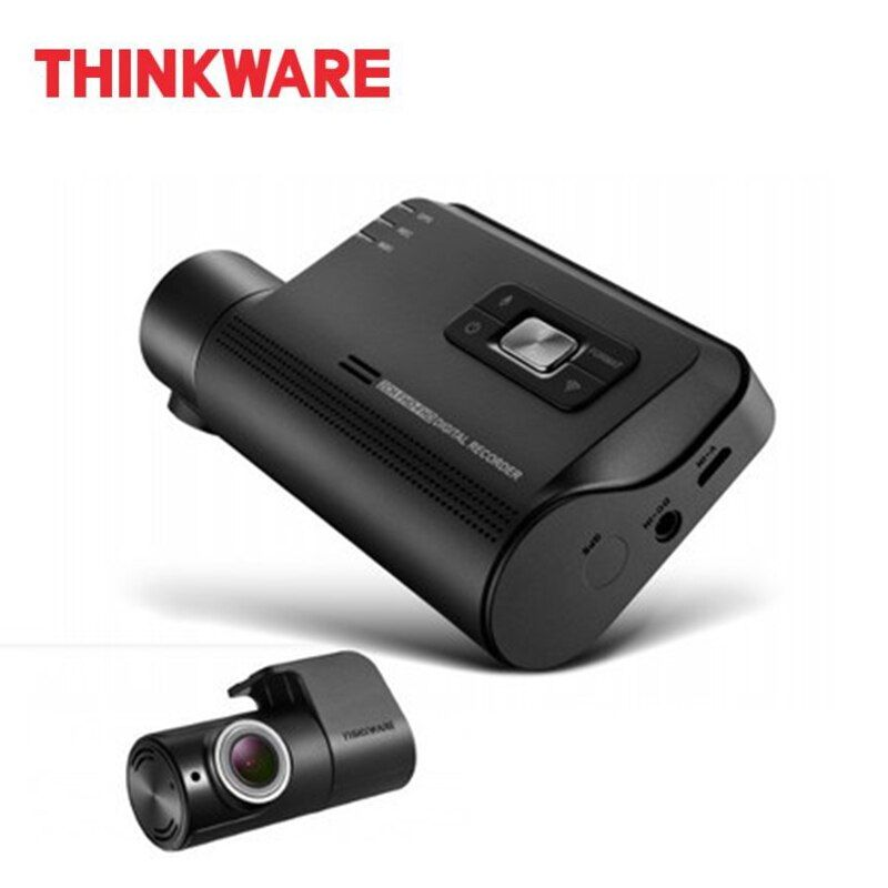 Thinkware Dash Cam F800 PRO 2 Channel Auto Camera Full HD 1920x1080 Car DVR Micro SD Card Hardwiring Kit with Rear Cam