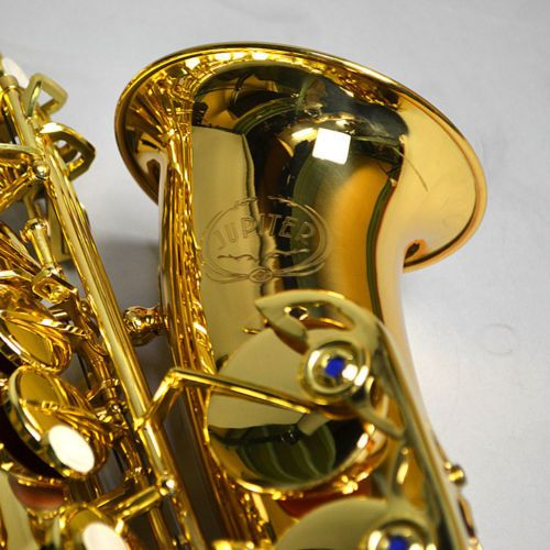 Professional Musical Instrument New JUPITER JAS-769 Alto Eb Tune Saxophone Gold Lacquer Sax With Case Mouthpiece Free Shipping