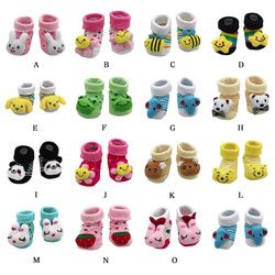 MUQGEW 2018 new  clothing Cartoon Newborn Baby Girls Boys Anti-Slip Socks Slipper Shoes Boots kids clothes sports suit