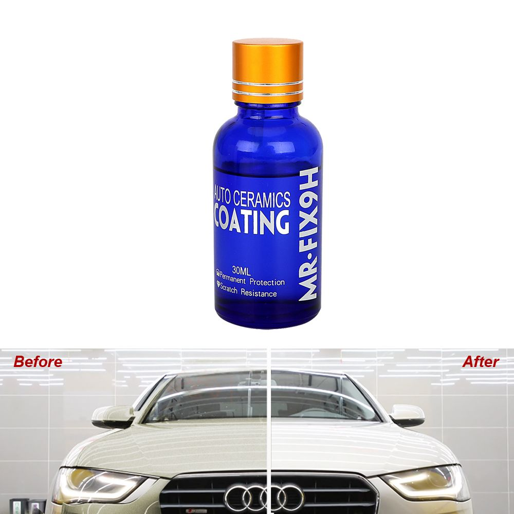Auto Detailing Car Liquid Ceramic Coat Anti-scratch Glasscoat Motocycle Paint Care Super Hydrophobic Glass Coating Car Polish