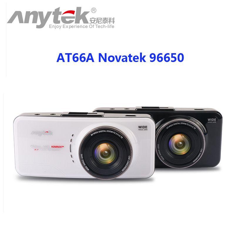 Original <font><b>Anytek</b></font> AT66A full HD Novatek 96650 Car DVR Recorder Black Box 170 Degree 6G Lens Supper Night Vision Dash Cam