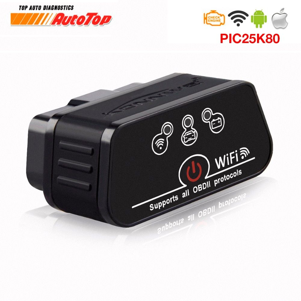 2019 EML327 ODB 2 iCar2 Wifi for IOS Iphone Android ELM 327 Wi-Fi Auto Diagnosis Scanner OBD2 ELM327 Wi-fi Autoscanner