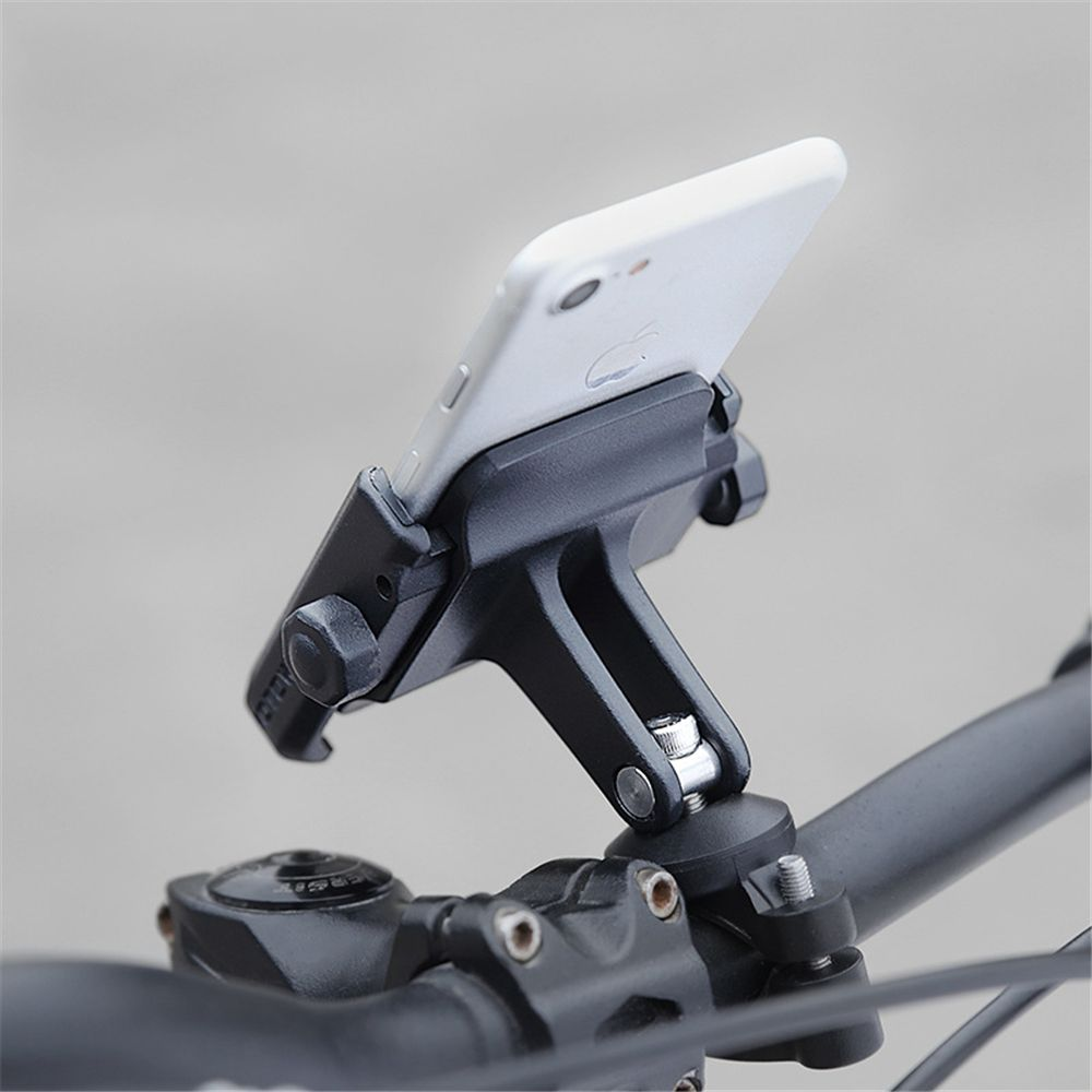 Bike Bicycle Motorcycle Handlebar Mount Stand Holder for iPhone 8 Samsung 4-7Inch Cell Phone 360 Degrees Rotation Phone Cradle