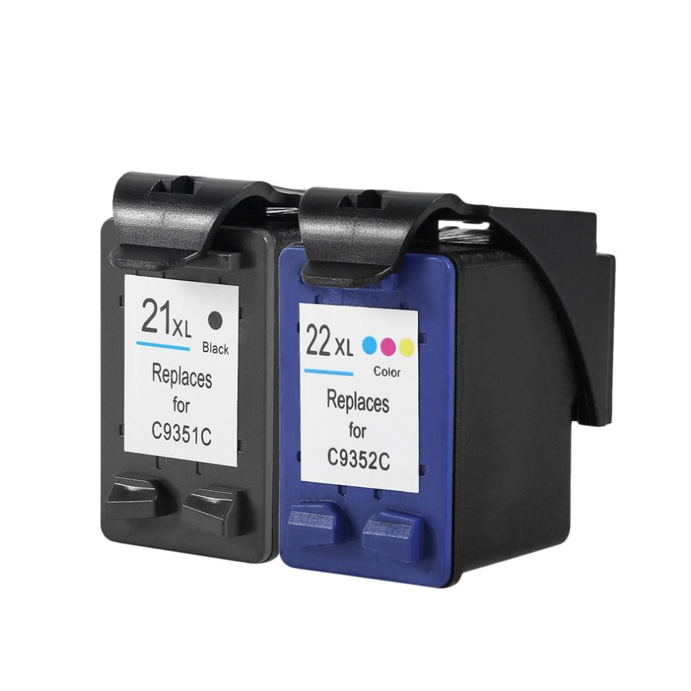 for HP Cartridges 21 and 22 For HP 21 22 XL Ink Cartridges For HP Deskjet F2180 F2280 F4180 F4100 F2100 F2200 F300 F380 3910