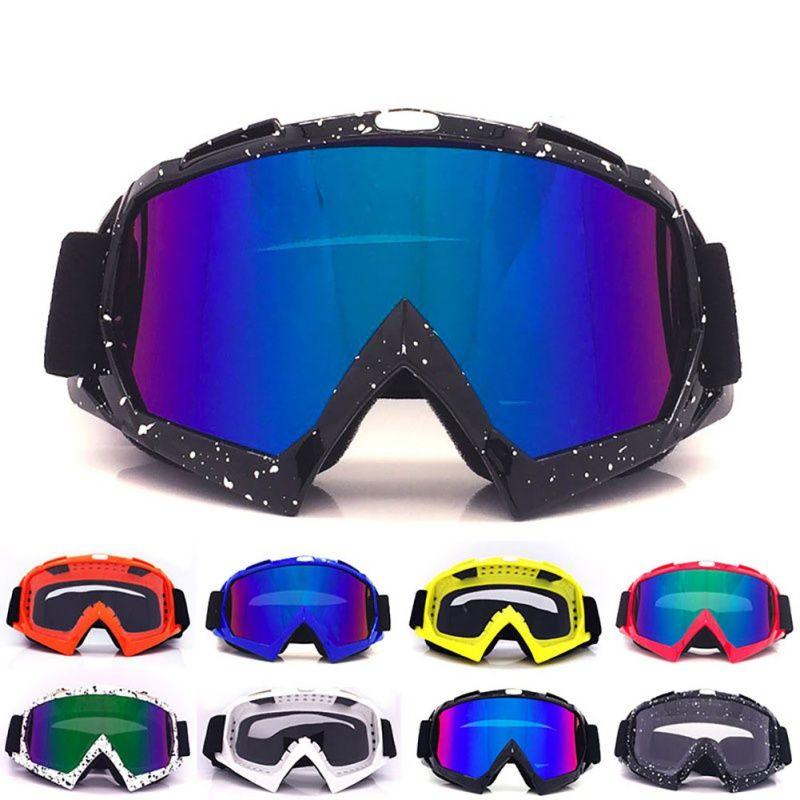 Unisexe Lunettes de Ski masque anti neige D'hiver Motoneige Motocross lunettes de Soleil coupe-vent protection uv Hiver lunettes de sport