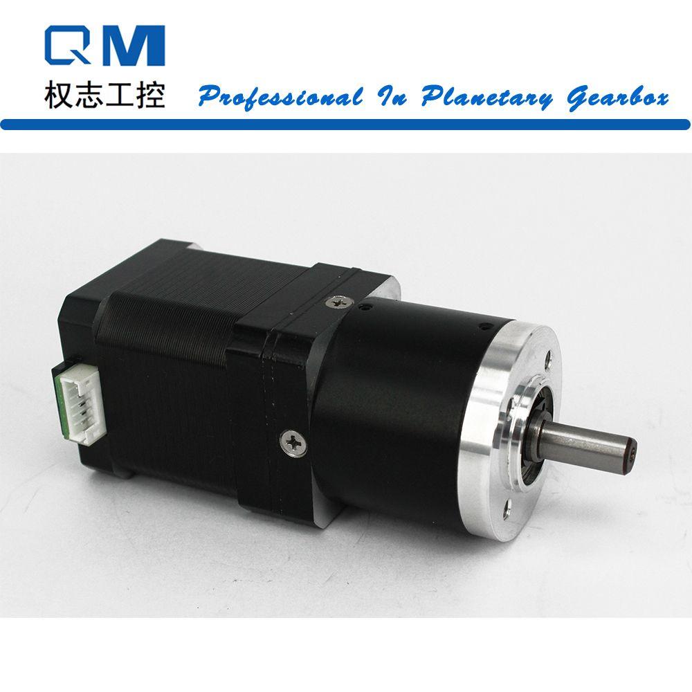 Gear motor planetary reduction gearbox ratio 15:1 nema 17 stepper motor L=48mm cnc robot pump