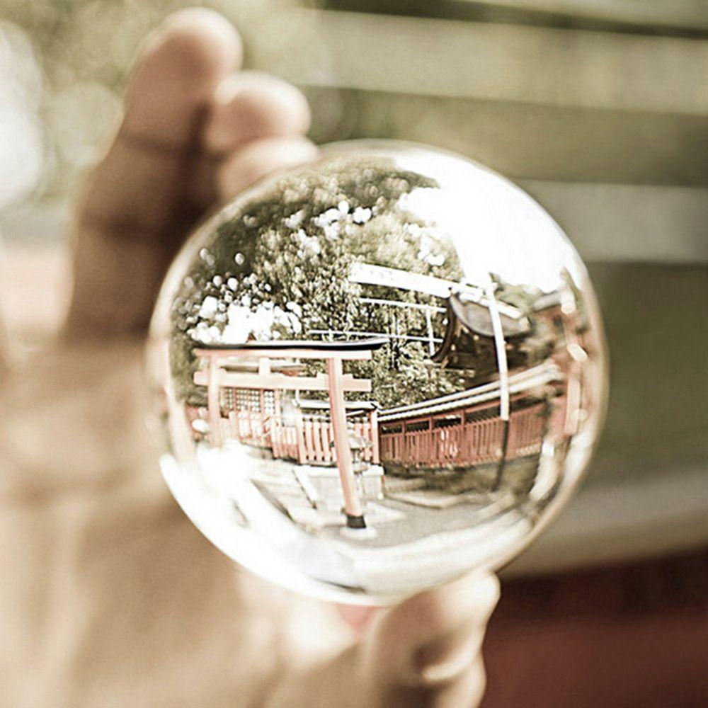 100mm Redondo Claro Cristal Artificial Crystal Healing Esfera de La Bola Decoraciones Decoración Perfecta Un Regalo Maravilloso para Toda Ocasión