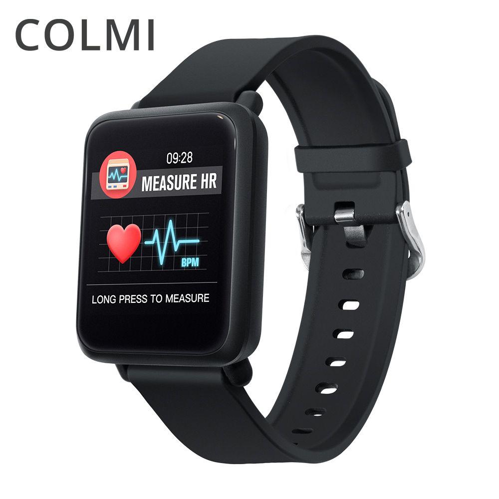 COL mi montre Smart Watch M28 IP68 ÉTANCHE Bluetooth Fréquence Cardiaque Sang Pression Smartwatch Pour xiao Mi android Ios TÉLÉPHONE Lien SPORT 3